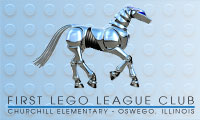 First Lego League Club, Churchill Elementary
