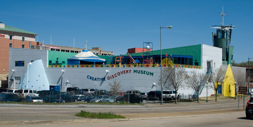 The Creative Discovery Museum in Chattanooga, Tennessee. Full of fun stuff for kids to do.