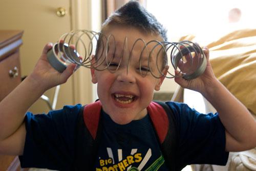 Slinky craziness!!