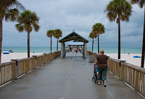 The Clearwater Beach pier