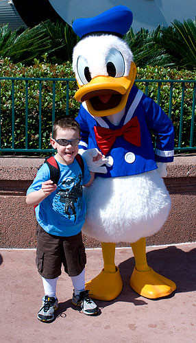 Kyle and Donald Duck