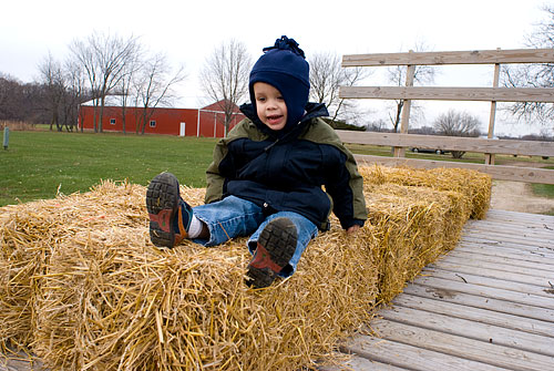Ready for a hayride!