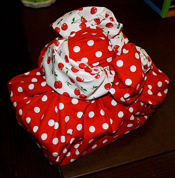 A beautiful example of Katra's wrapping